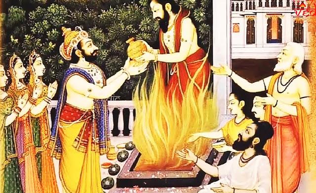 king dasaratha story, who was the kulguru of king dashrath,dasharatha wife.