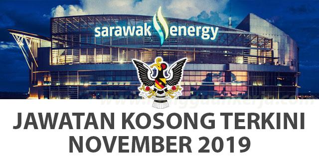 Sarawak Energy ~ Pelbagai Kekosongan November 2019