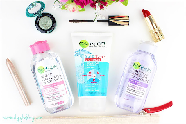 Garnier 3 in 1 Wash Scrub and Mask