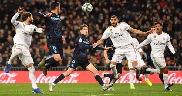 نتيجة مباراة ريال مدريد وريال سوسيداد بث مباشر 21-6-2020 الدوري الاسباني