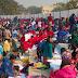 सारण : छपरा राजेंद्र स्टेडियम में पेंटिंग प्रतियोगिता का आयोजन किया गया जिसमें 50 विद्यालयों के 500 से अधिक छात्र-छात्राएं शामिल हुए