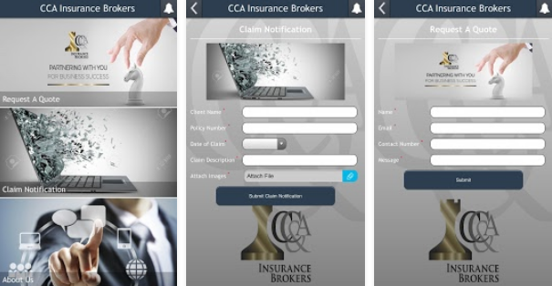 CC&A Insurance Brokers App