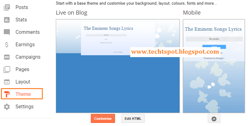 How To Change Blogger Blog Template