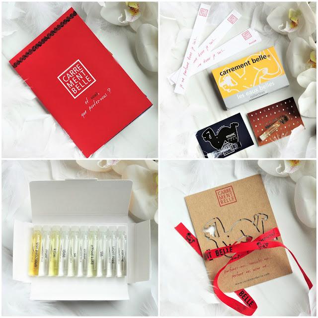avis  Coffret Découverte Carrément Belle, blog parfum, parfum femme, parfum homme, perfume
