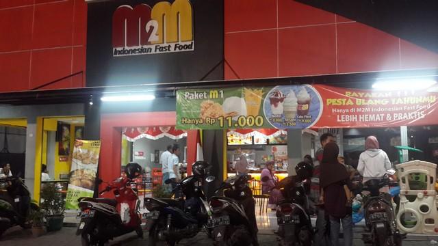 M2M Indonesia Fast Food di Bangil Pasuruan