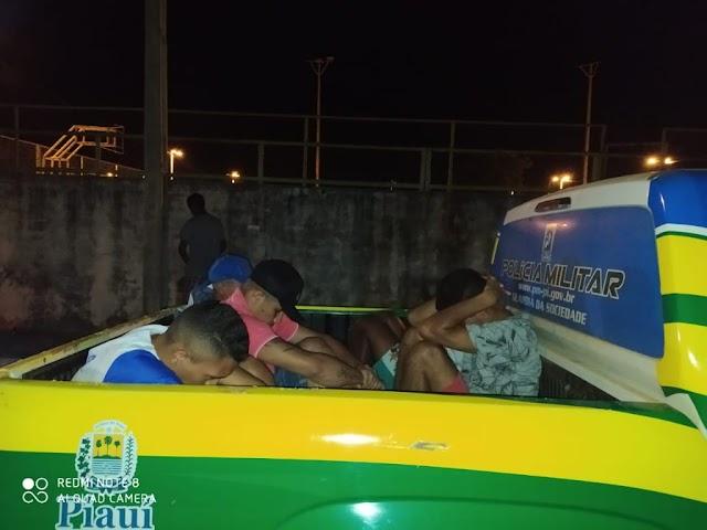 Polícia Militar coíbe ações criminosas durante patrulhamento em Campo Maior