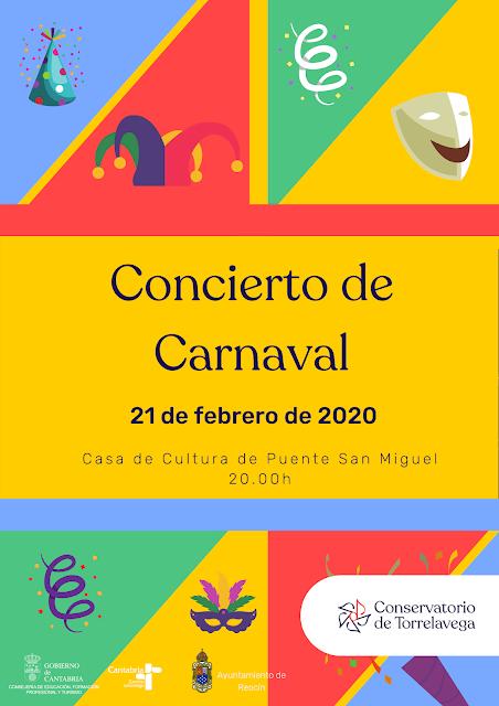 Concierto de Carnaval en Puente San Miguel