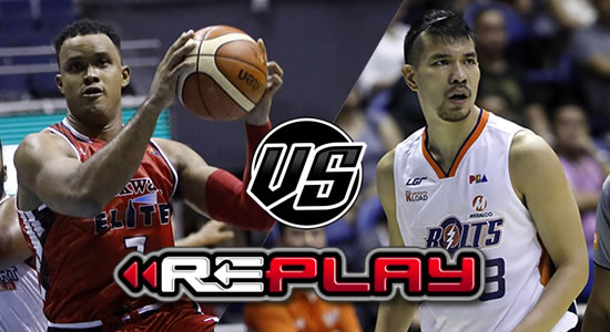 Video Playlist: Meralco Bolts vs Blackwater Elite replay 2019 PBA Philippine Cup January 19