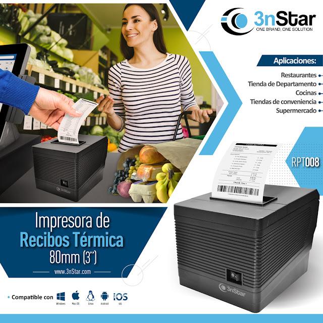 Impresora Facturación Electrónica, Recibos