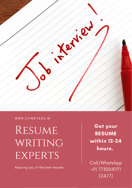 resume writing services hyderabad