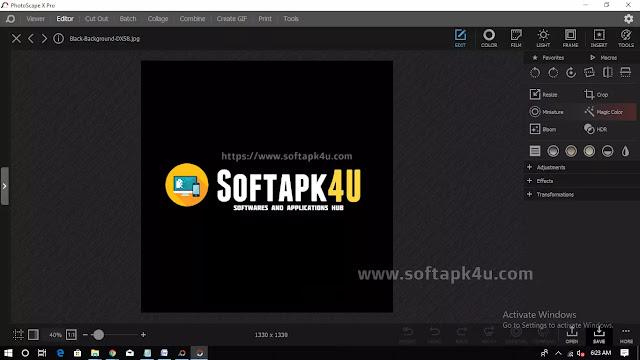 Photoscape X Pro 4 Free download