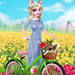 لعبة الأميرة إلسا الربيع
