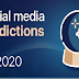 Social Media Predictions for 2020 #infographic