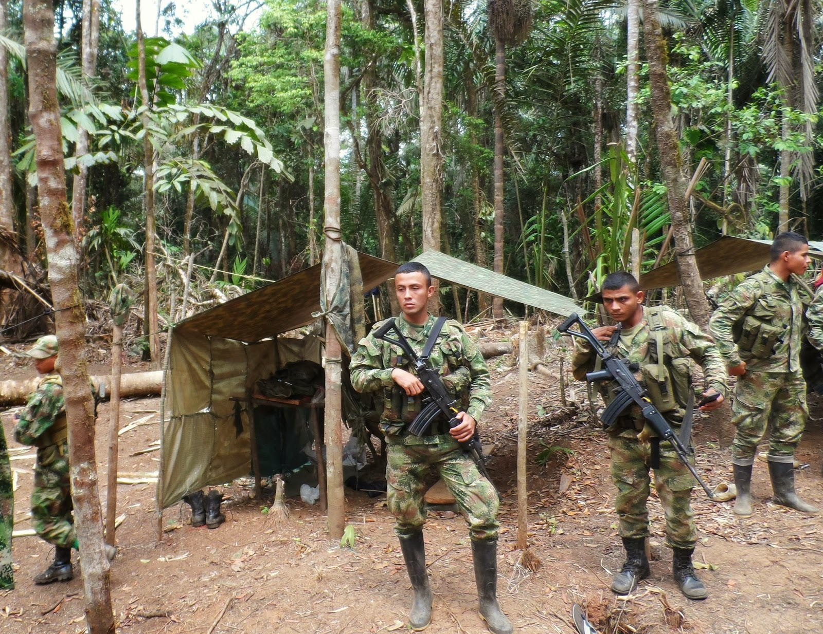 Secret Operations: Colombia's Military Base in Cacarica | Witness