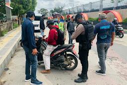 Polres Jayawijaya Gelar Razia di Wamena,11 Unit SPM Terjaring 2 Unit Hasil Curanmor