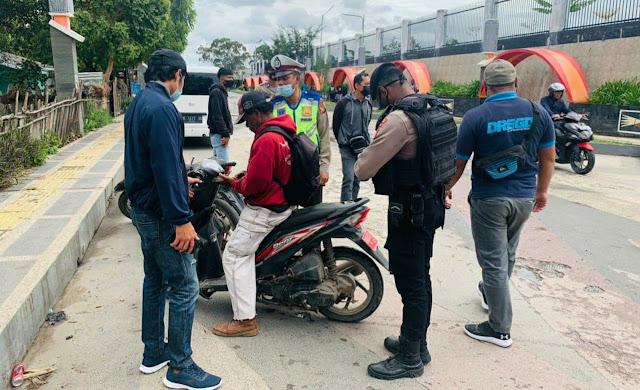 Polres Jayawijaya Gelar Razia di Wamena 11 Unit SPM Terjaring, 2 Unit Hasil Curanmor