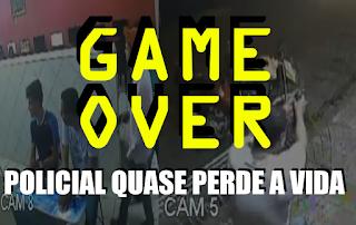 [VÍDEO] PM JOGANDO VÍDEO GAME É ROUBADO E QUASE ACABA NO GAME OVER