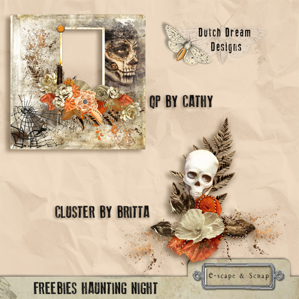 FREEbie..... QP & CLUSTER by DUTCH DREAM DESIGNS