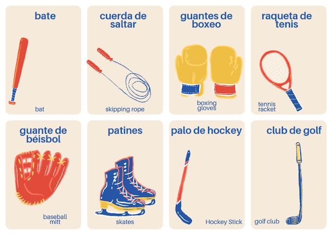 sport Spanish vocabulary
