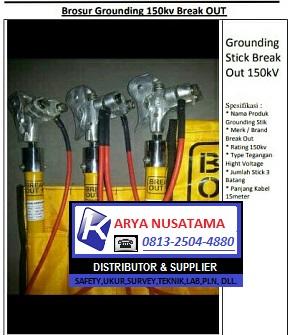 Break Out Murah Grounding 150kv di Pontianak