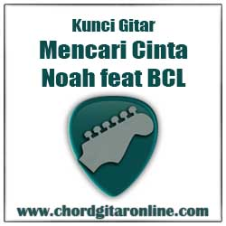 Chord NOAH Mencari Cinta Feat Bunga Citra Lestari BCL