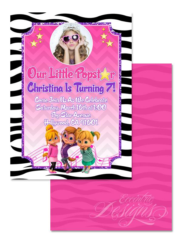 Eccentric Designs By Latisha Horton Alvin And The Chipmunks