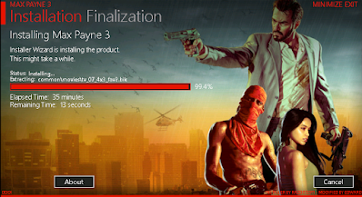Max Payne 3 Installation