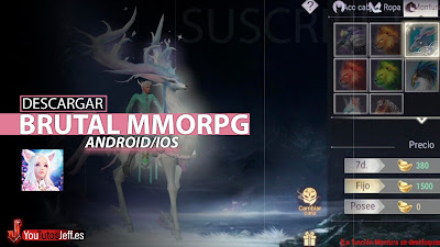 Brutal MMORPG, Descargar Perfect World Mobile para Android o iOS