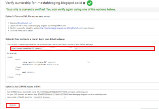 Pasti tidak asing lagi kan dengan Bing Cara Submit Peta Situs Webmaster Bing
