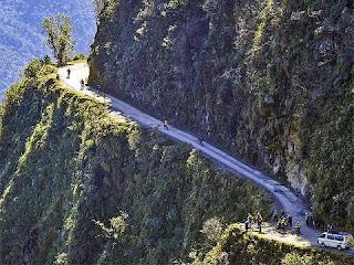Gambar Road of Death, Bolivia