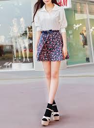 Model Baju Setelan rok pendek Wanita Modern