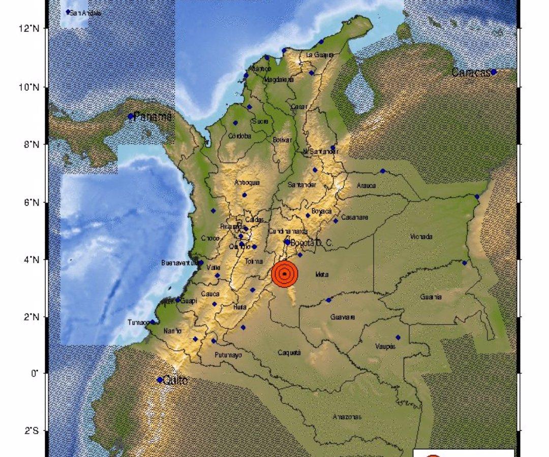 Lo que sabemos del sismo de magnitud 6,2 sacudió a Colombia y se sintió en varias zonas del país