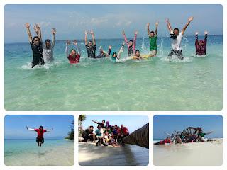 Piknik Seru ke Pulau Karang Barus Yang Tanpa Penghuni
