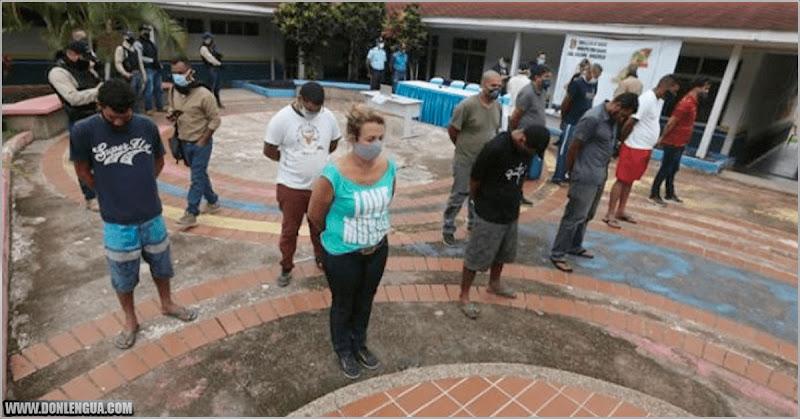 10 detenidos por traficar combustibles y seres humanos en Santa Elena de Uairén