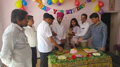 पूजा बिश्नोई ने हिरणी सोना का मनाया जन्म दिन