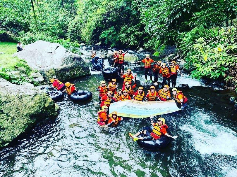 river tubing tanakita camping ground