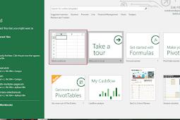 Mengenal Tampilan Antarmuka Excel 2016 Lengkap