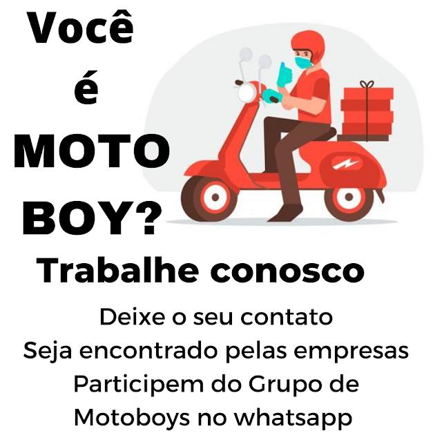 Entregadores e Motoboys