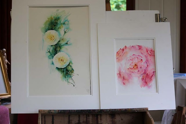 Atmospheric Flowers in Watercolour; New Book Available now!