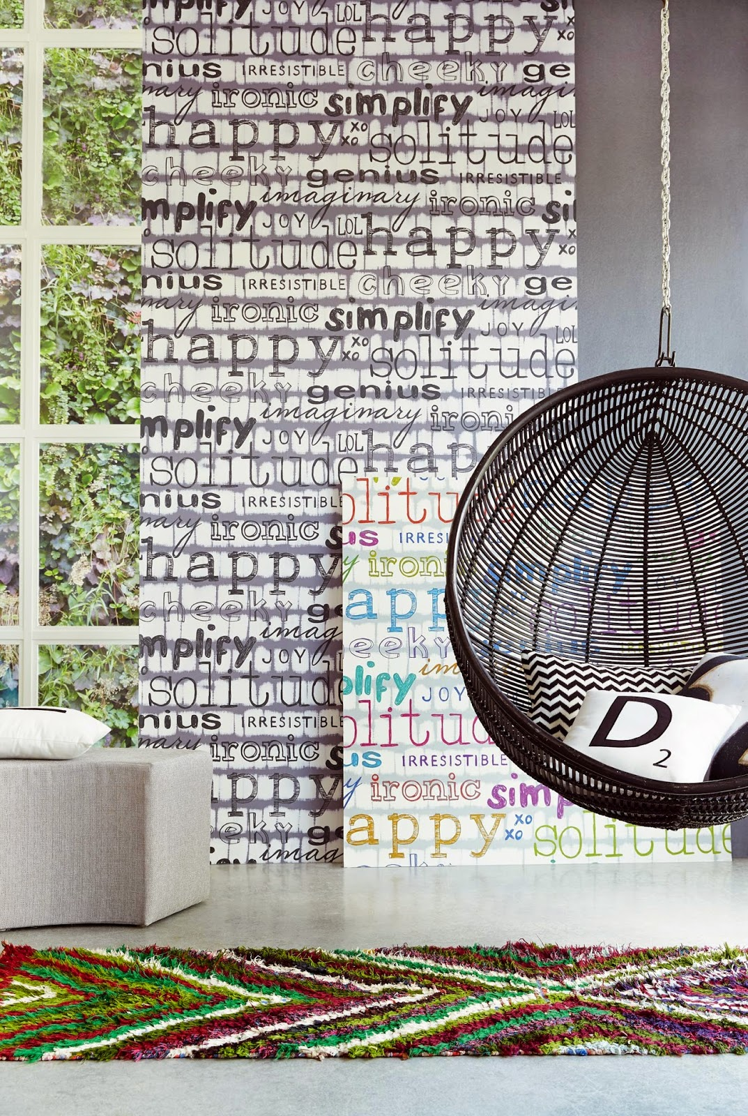 10 ideas para papel de pared decorativo - Papeles de vinilo para pared ...