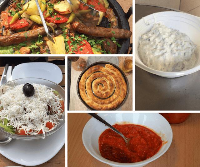 comida bulgária