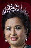 diamond palmette tiara malaysia queen raja perempuan muzwin perak permaisuri zarith sofiah johor