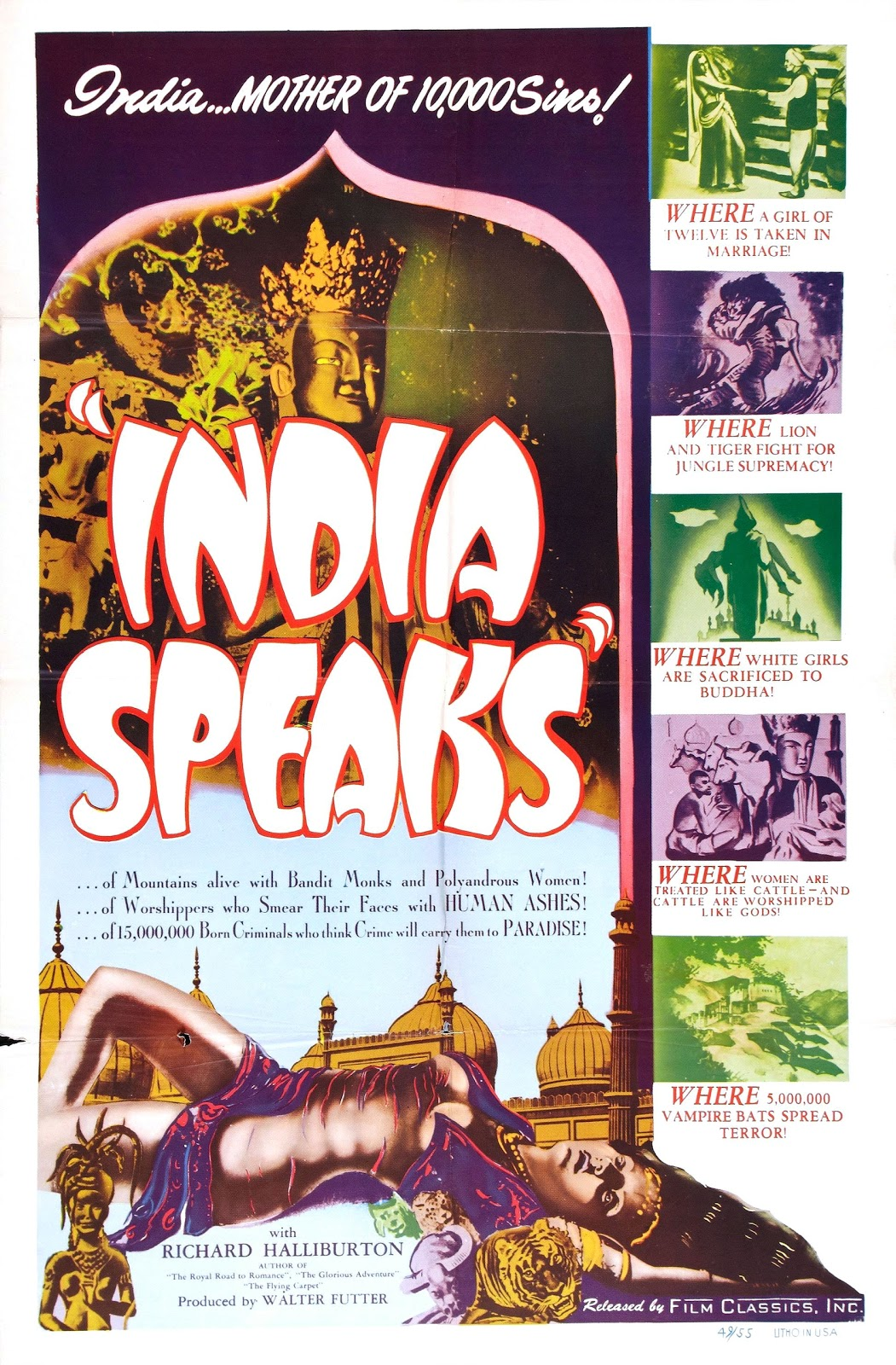 Indian Dances in Western Films about India: Part 3 (Orientalism