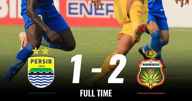 Hasil Pertandingan Persib vs Bhayangkara