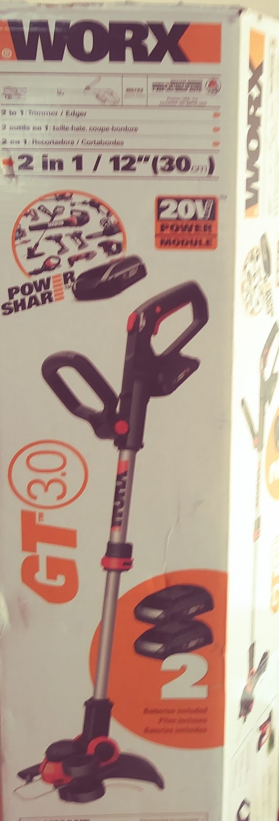 WORX Cordless Trimmer and Edger