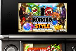 3DS黒子スタイルに北本トマトカレー