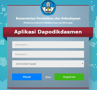 File Pendidikan Cara Input Nomor KIP Di Dapodik Versi 2020