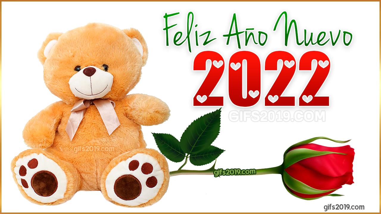 2022 feliz ano nuevo imagen bonita