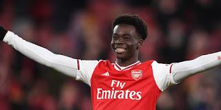 Bukayo Saka Happy to take over Arsenal No7 Jersey