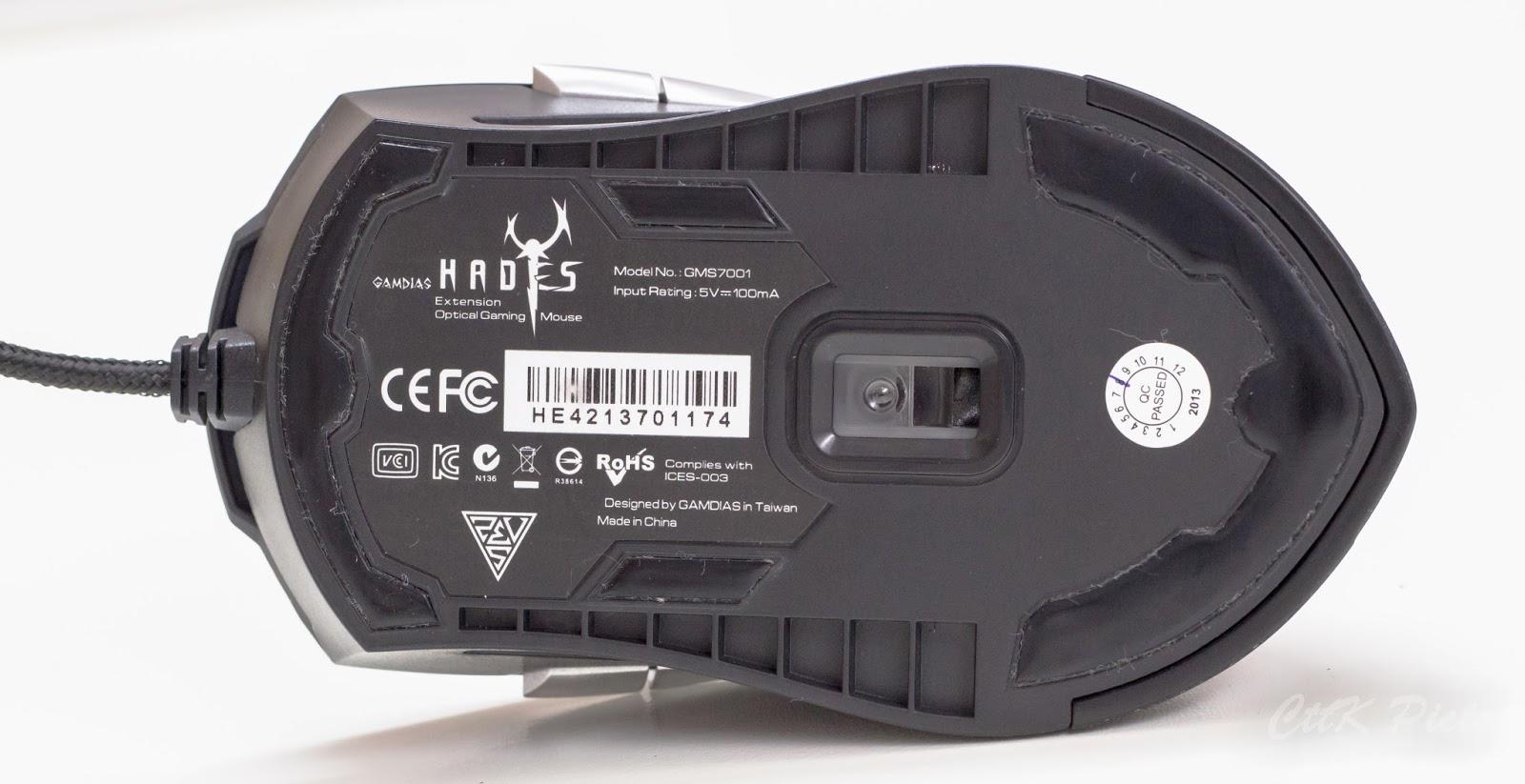 Gamdias Hades Extension Optical Gaming Mouse 67